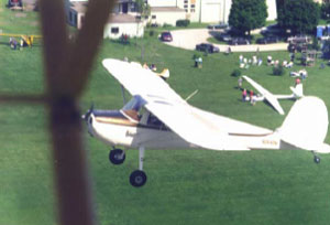 Happiness is—A great day flying! It was Ch 25's 40th anniversary